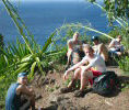 Water Break on the NaPali Trail